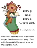 Soft g and soft c Word Sort