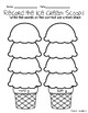 Soft vs. Hard G Ice Cream Stack Literacy Center and Worksheets