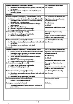 Software Design and Development HSC assessment 1
