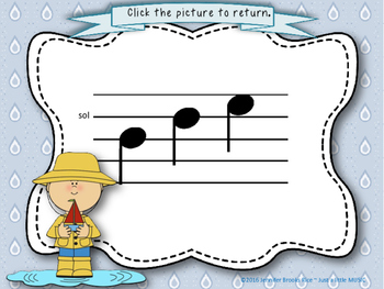 Soggy Solfege-- Interactive Melody Reading Practice Game {la}