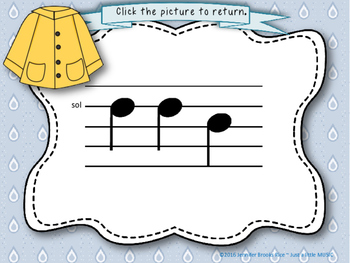 Soggy Solfege-- Interactive Melody Reading Practice Game {sol mi}