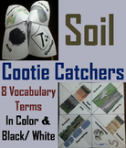 Properties of Soil Activity Cootie Catcher (Geology Unit Erosion and Weathering)