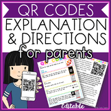 QR Codes: Explanation and Directions for Parents