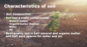 Soil Characteristics and Formation Notes and Foldable
