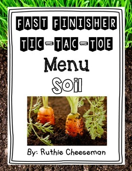 Soil Choice Menu