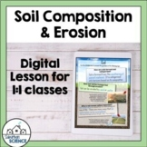 Soil Composition and Soil Erosion Unit for Distance Learning