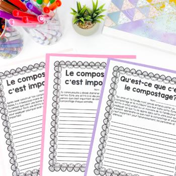 Soil Culminating Task: French Version