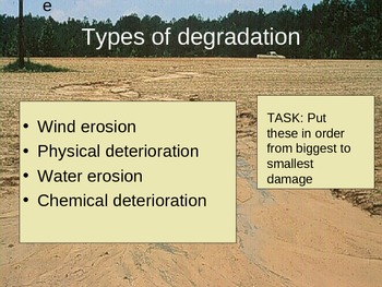 Soil Degradation - PowerPoint Presentation