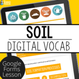 Soil Digital Vocabulary | Distance Learning
