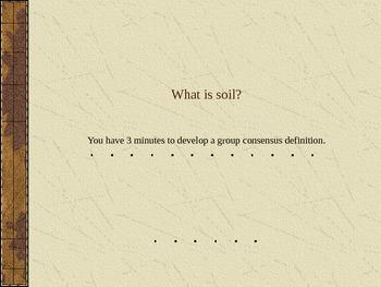 Soil, Erosion, and Sediments Mini-Unit