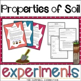 Soil Worksheets Experiments