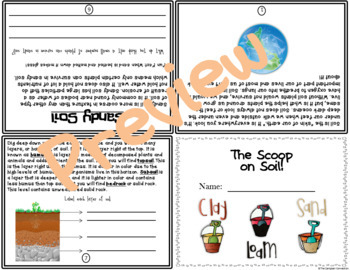 Soil Informational Flip Book