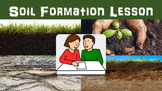 Soil Formation Lesson with Power Point, Worksheet, and Web Soil Survey Activity