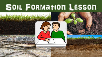 Soil Formation Lesson with Power Point, Worksheet, and Web
