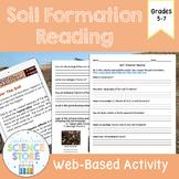 Soil Formation Web-Quest Reading Activity