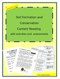 Soil Formation and Conservation Content Reading with Activ