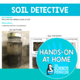 Soil {Hands-on at Home} | Distance Learning