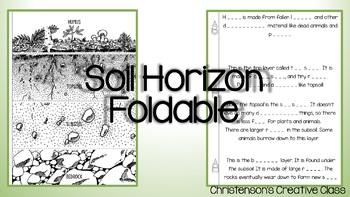 Soil Horizon/Layer Foldable