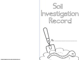 Soil Investigation Lab Book