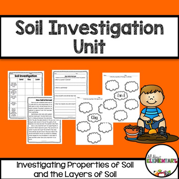 Soil Investigation Pack {Properties of Soil and the Differ