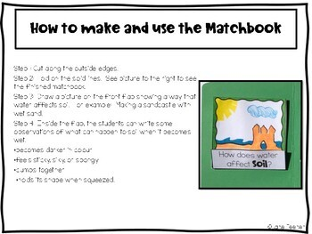 Soil Lapbook and Foldables
