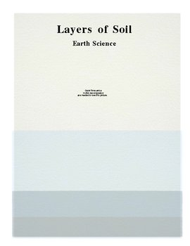 Soil Layers and Plants (2 lessons)