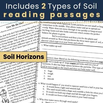 Soil Nonfiction Reading Comprehension Passages