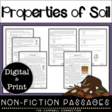 Soil Nonfiction Reading Comprehension Passages and Questions