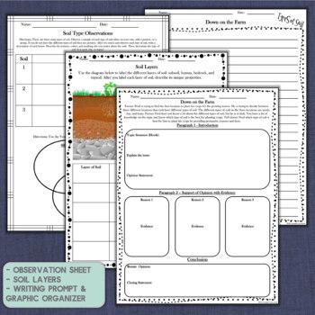 Soil Nonfiction Passages and Activities