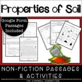 Layers of Soil Worksheets and Reading Passages   Google Form