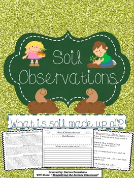 Soil Observations Activity