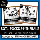 Soil, Rocks and Minerals Interactive Notebook Unit