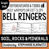 Soil, Rocks and Minerals Bell Ringers