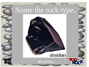 Soil, Rocks, and Minerals Interactive PowerPoint Quiz Game