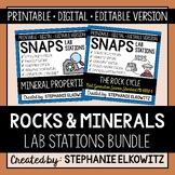 Soil, Rocks and Minerals Lab Stations Bundle
