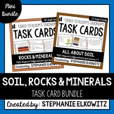Soil, Rocks and Minerals Task Cards