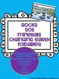 Soil, Rocks and the Changing Earth Foldables