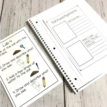Soil STEAM Unit   Science Stations for Primary Grades