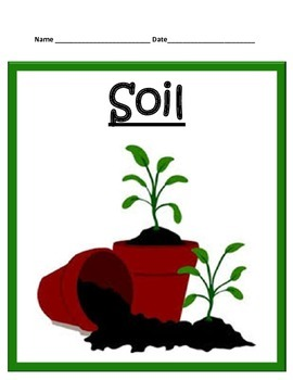 Soil STUDY GUIDE - 3rd Science