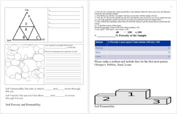 Soil Science, Erosion, Ice Ages, and Glaciers Unit Homework