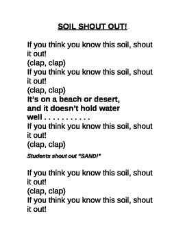 Soil Shout Out!