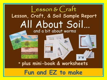 Soil! Soil! Soil! + Worms * mini-unit * activities * hands-on * printables * fun