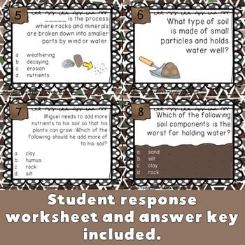 Soil Task Cards {Digital & PDF Included}