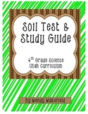 Soil Test and Study Guide - 4th Grade Science