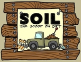 Soil: Soil types minibook and activities with vocabulary foldable