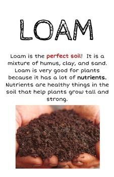 Soil Types Poster