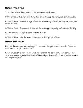 Soil Quiz