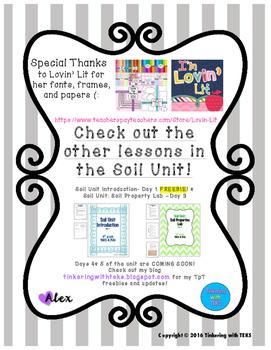 4th Grade Science Soil Investigation