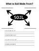 Soil Unit Worksheets - Grade 3, Ontario