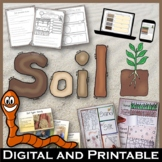 Soil Unit Pack – Printables, Interactive Notebooks, Editable PowerPoint